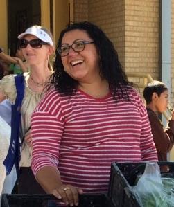 Esmeralda Vera, Promotora de Salud at Bread & Roses Farm Stand
