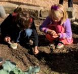 2019 girlsplantingcarrots